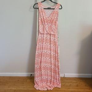 Market & Spruce♡ Vneck sleeveless maxi dress